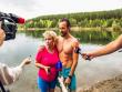 Suyun altında ağırlıq qaldıran rusiyalı rekorda imza atdı