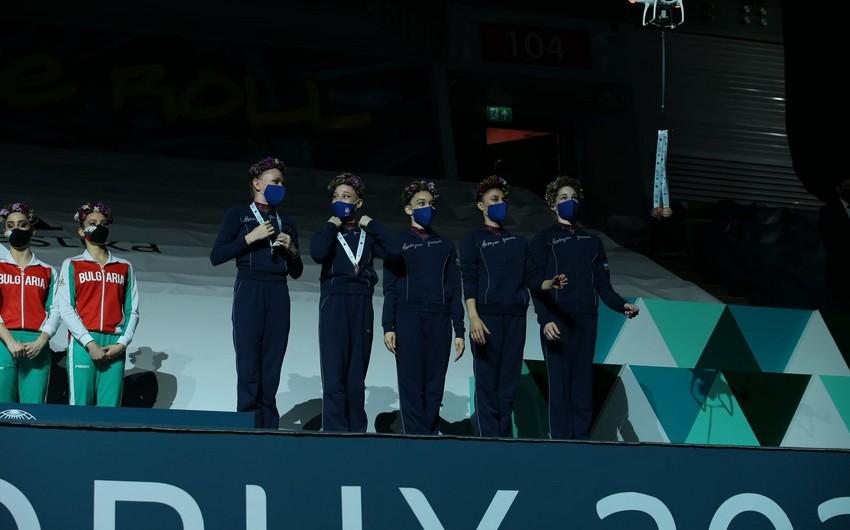 Dünya Kubokunda medallar pandemiyaya görə dronla təqdim edildi