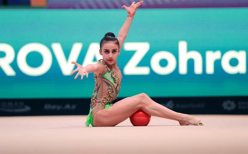 Gimnastlarımız Avropa çempionatının finalında