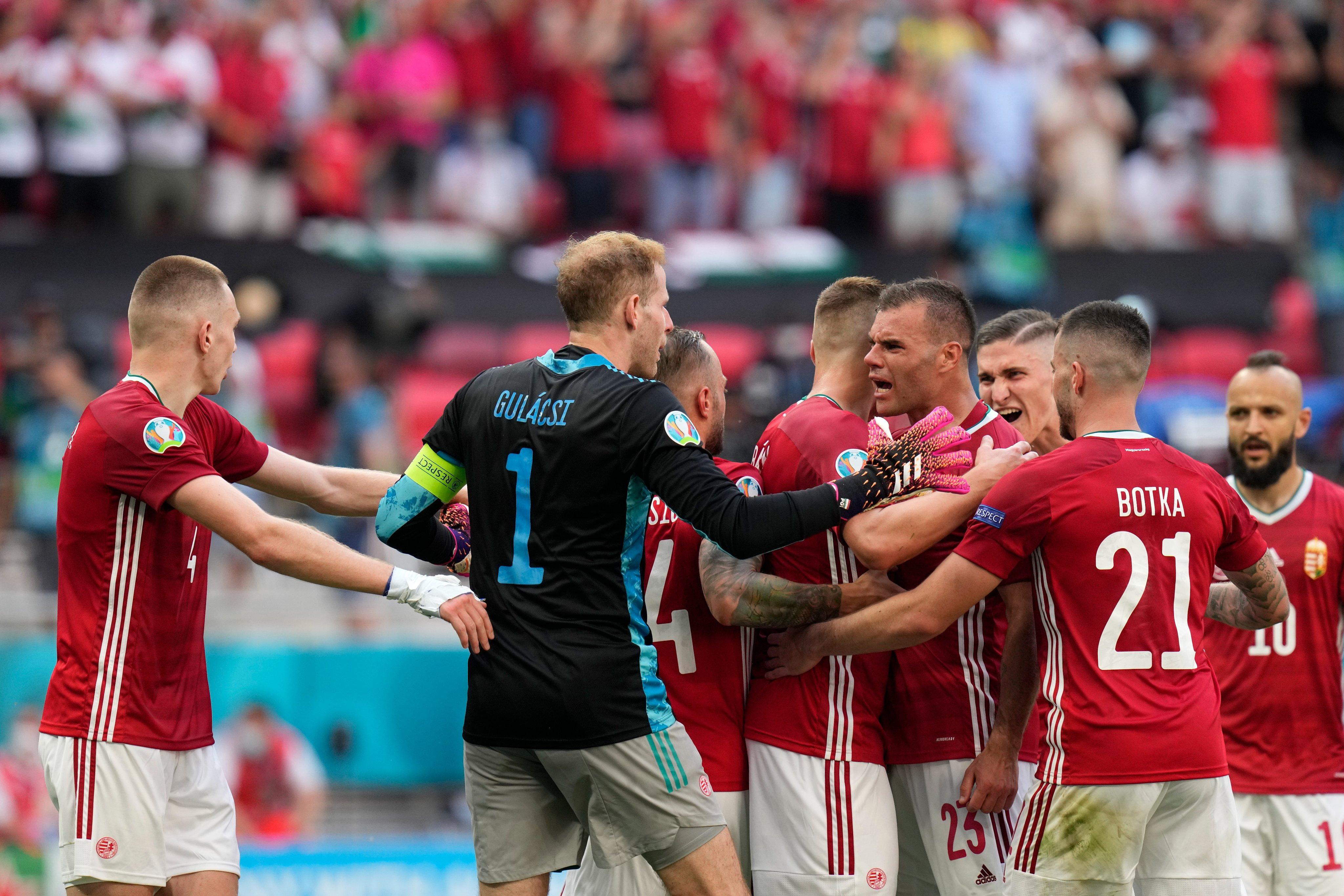Macarıstan — Fransa matçından yaddaqalan məqamlar — Fotoreportaj