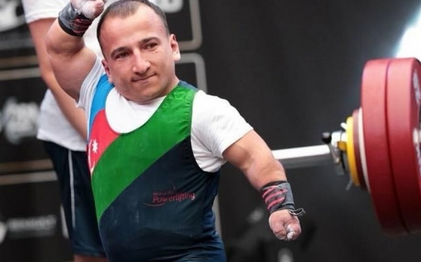 Daha bir paralimpiyaçımız Tokio-2020-yə lisenziya qazandı