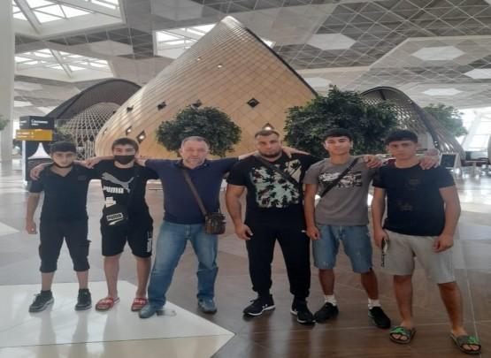 Avropa birinciliyində 4 sumoçumuz iştirak edir