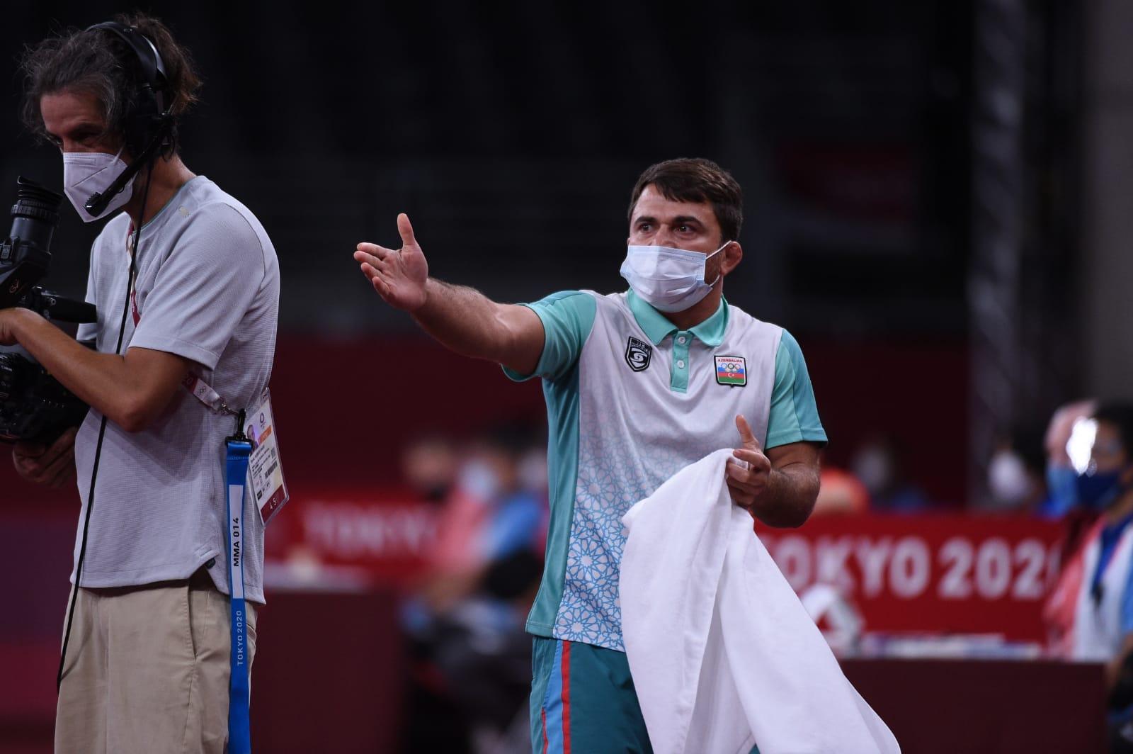 İslam Abbasov Tokio-2020 ilə erkən vidalaşdı — FOTO