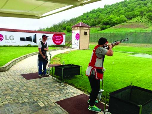 İdmançımız Qran-pri yarışlarının qalibi olub
