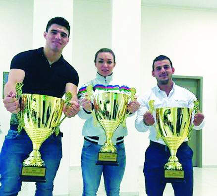 Ağırlıq qaldıranlarımız Klaypedada üç qızıl medal qazandılar