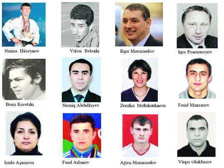 Azərbaycan idmançıları Olimpiya oyunlarında