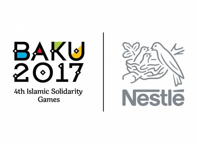 """""""Nestle"""" şirkəti IV İslam Həmrəyliyi Oyunlarının rəsmi dəstəkçisi olub"""