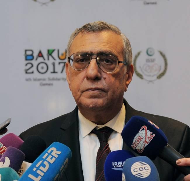 """Çingiz Hüseynzadə: """"Bakı-2017-də komanda idman növləri üzrə püşkün nəticələri bizim üçün əlverişlidir"""""""