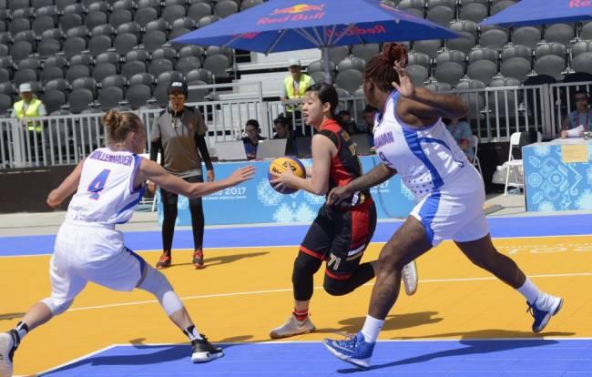 Hər iki komandamız basketbol 3x3 yarışlarının qalibi olub