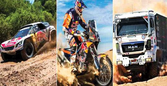 Dakar ralli yarışına yekun vurulub