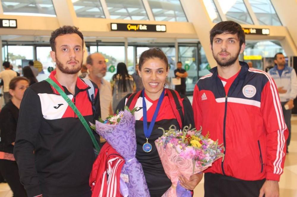 Aynur Məmmədova qızıl medal qazanıb