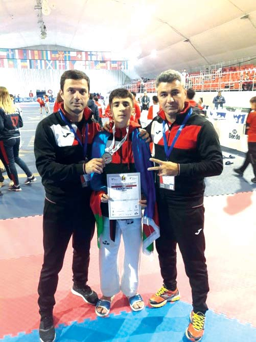 Avropa birinciliyindən gümüş medal