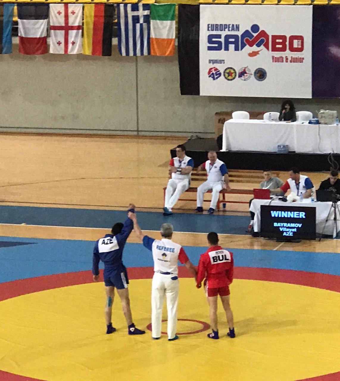 «Judo Club 2012»nin samboçusu Avropa çempionatının bürünc medalına sahib oldu