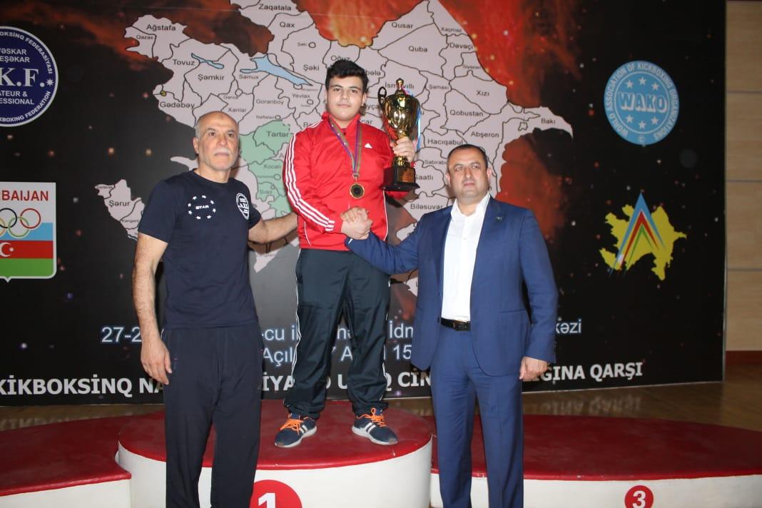 Nazim Həsənov Azərbaycan çempionudur - VIDEO
