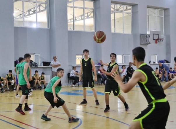 Basketbol turnirinin qalibi müəyyənləşib