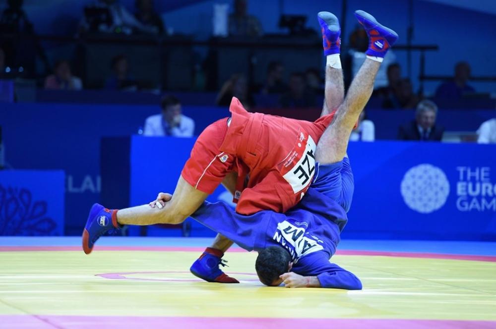Samboçumuz ikinci Avropa Oyunlarının gümüş medalını qazandı