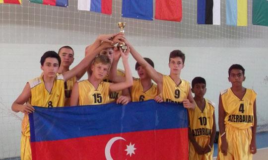 Basketbolçularımız beynəlxalq turnirdə çıxış ediblər